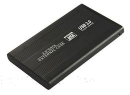 "Una caja portadiscos disco en Línea-Alta calidad de S5Q 2.5 ""SATA a USB 3.0 de disco duro Caddy disco duro HDD externo del caso del recinto externo"