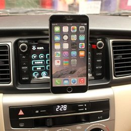 Wholesale-Super Magnetic Car CD Slot Fixate Mount Holder For Iphone 6 4.7 5 .5 Plus 5G 5S 5C