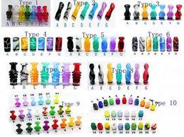 20pcs Vente en gros 510 goutte à goutte en acrylique plastique Gouttes d'eau pour 6ml DCT Chine cig e cig e cigarette pour RDA RBA atomiseur à partir de conseils pour e cig fournisseurs