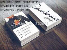 Wholesale Customized Business Card Name Card Visit Cards Printing Service Double Sides Matt Film Coated gsm Art Paper