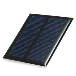 Silicio w en Línea-0.6W la mini célula solar del silicio policristalino del panel solar de 5.5V 90MA para el cargador 65x65m m 6pcs / lot del módulo DIY libera el envío