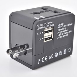 High Quality Travel Plug Adapter Multifunctional Conversion Plug Universal Travel Adapter Socket Dual USB Port Socket
