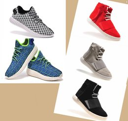 Wholesale Newest kanye west Milan Fashion Boost and Flying wire braid Breathable New Sneaker For Man Woman Shoes Running Shoes