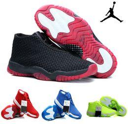 Wholesale Nike Jordan Future Low Shoes Man Basketball Shoes Athletic Sport Shoes Retros Mens Designs Trainers Eur
