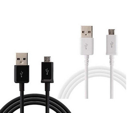 Wholesale Micro USB Charger Cable for Samsung Galaxy S4 S6 S Sync Data Charging Adapter Lead Cord for HTC LG Nokia