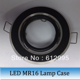 Wholesale Aluminum led MR16 lamp ring case cover gold led lighting accessory