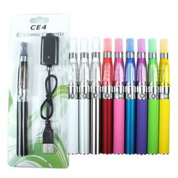 Promotion métal cas ecig Ego CE4 kit de démarreur atomiseur kit de cigarette électronique 650mah 900mah 1100mah EGO-T batterie cas blister Clearomizer Ecig DHL gratuit
