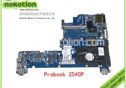 Ordinateur portable hp i7 en Ligne-Carte mère gros-ordinateur portable HP EliteBook 2540P pour 598762-001 LA-5251P i7-640LM 2.13 GHz QM57 GMA HD DDR3 entièrement testé + nouveau