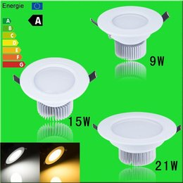 CREE 9W 15W 21W 27W 36W Recessed LED Ceiling Downlight Spot light For Home Lighting Decoration Warm White Cold White