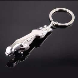 Wholesale Wholes price Promotional hot items jaguar keychains new arrival keychains gift jaguar keychains W215