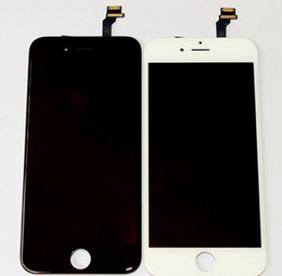DHL free Original LCD Display Touch Digitizer Complete Screen with Frame Full Assembly Replacement for iPhone 6 iphone 6 plus