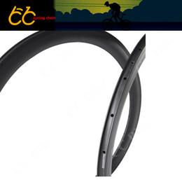 Wr s en venta-Bicicleta Rims 700C Rim de carbono 38mm Clincher Road Bike Rim Toray Carbono T700 38mm Ronda de remolque de carbono CC-WR-38C-W23-S