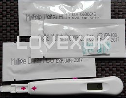 Wholesale NEW Home Use Mutiple Digital Pregnancy Test Machines Tester Strip CE Certificate Can Test Three Times