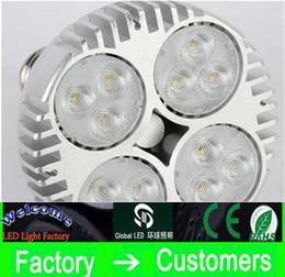 Wholesale LED PAR38 W W LED Spotlight Par led bulb with Fan for jewelry clothing shop gallery led track rail light museum lighting CREE