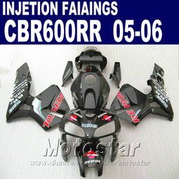 Customize black one! Injection Molding for HONDA CBR 600 RR fairing 2005 2006 cbr600rr 05 06 cbr 600rr custom fairing H7EW