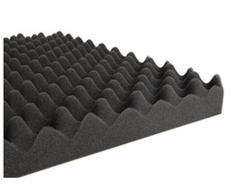 Wholesale 6 x Wave Acoustic Sound Foam Sound Absorption Treatment by Epacket