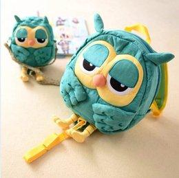 Wholesale South Korean cute cartoon owl baby schoolbag children backpack lost prevention bag kids single shoulder bag bag GR290