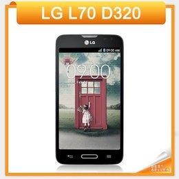 Wholesale 11 Shopping Festival Original Unlocked LG L70 D320 Dual Core Inch Smartphone GB MP Camera GPS WiFi LG Android phone