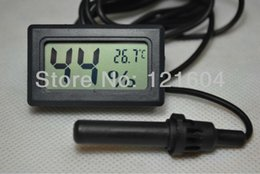 Wholesale Digital Thermometer Hygrometer Hygro temperature Probe for Reptiles Incubators
