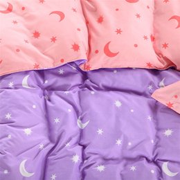 Wholesale pattern of stars and the moon Larry bed set bedding sets duvet cover Bedding sheet printing activity