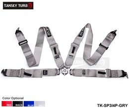 Wholesale TANSKY quot SP Point Camlock JDM Racing Seat Belts Safety Harness Default color is GREY TK SP3I4P GRY