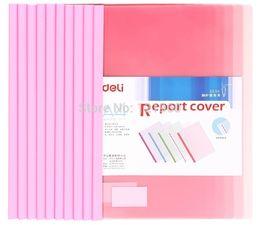 Wholesale File Folder Folder For Papers Hot Pvc Sale New Pasta For Deli A4 Report Cover amp spine Bar Color Clip