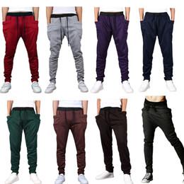 Wholesale Cargo Pants For Boys - Harem Pants Low Crotch Pants Loose Sport Trousers Casual Pants Hip-Hop Pants for Men Boys HB88