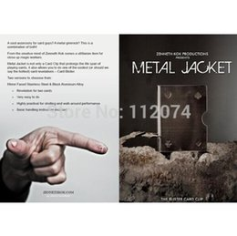 Metal Jacket The Blister Card Clip - Card Magic, Magic Accessory,Magic Trick