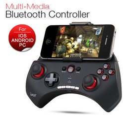 Descuento pc joystick Ipega PG-9025 Gaming Bluetooth Controlador Gamepad Joystick para el iPhone Samsung HTC Moto Android Tablet PCS Negro / Blanco