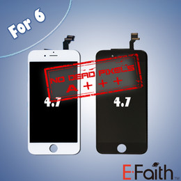 Wholesale LCD display with touch screen digitizer complete for iPhone Grade A inch