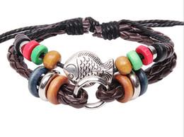 New Unisex Leather Cute Infinity Charm Weave Bracelet Jewelry KL206