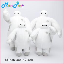30 cm y 38 cm de súper héroe gran héroe Baymax Robot felpa rellena Animales Juguetes muchos estilos pueden elegir desde superhéroes juguetes de peluche fabricantes