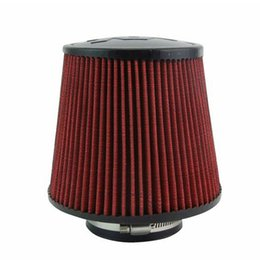 Wholesale Racing quot mm and mm Air Intake Filter Height High Flow Cone Cold Air Intake Performance Air Filter Car Vehicle