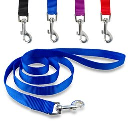"""(3 Colors 3 Size) 48"""" Durable Nylon Dog Pet Long Leash Lead For Puppy Daily Walking"""