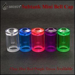 Wholesale Subtank mini bell cap replacement caps tanks atomizer for e cigs kangertech kanger sub tank subtank mini subox mini sub box atomizers
