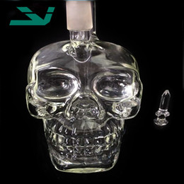 Glass Water Pipes Real Pictures Skull Oil Rigs Water Pipes Tobacco Water Smoking Pipes Hookahs