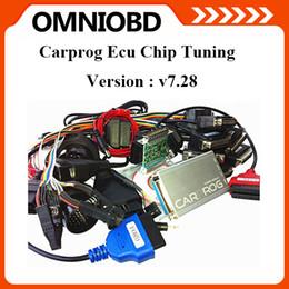 Wholesale 2016 DHL Free Newest V7 Carprog Programmer Auto Repair Airbag Reset Tools Professional CarProg ECU Pro Full Adaptors