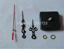 Wholesale 200pcs Quartz Clock Movement Kit Spindle Mechanism Repair with hand sets