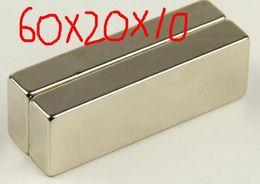Wholesale 60 x Super Strong Neodymium Block magnet x x mm Magnets N35 Grade Rare Earth hong kong shipping