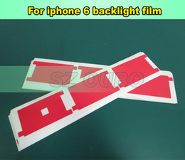 Cell Phone Repair Parts backlight sticker film plastic refurbishment replacement for broken iphone 6 6G red color