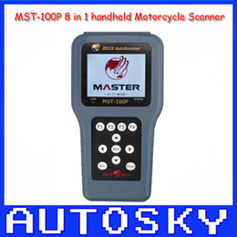 Wholesale High Quality MST P IN Handheld motorcycle scanner MST100P Autoscanner MST100P Year Warranty