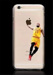 Wholesale USA Basketball Star Air PC phone cases Matte Back Cover Cases for Apple iphone6 plus inch
