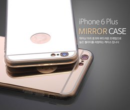 Luxury Clear Aliclic Mirror Electroplating Ultra Thin Soft Gel TPU Case For iPhone 5 5S 6 Plus Samsung Galaxy S6 Edge Cases