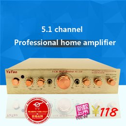 Wholesale AC v Professional Home HIFI Amplifier Analog Sound Channel W High Power Household Karaoke System