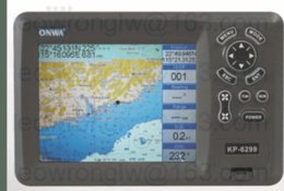 Wholesale Compatible C Map MAX Card inches Color LCD Marine GPS Chart Plotter for ONWA KP