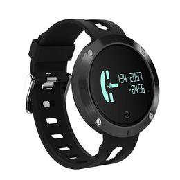 IP68 Waterproof DM58 Smart Band Fitness Tracker Smart Wristband Blood Pressure Heart Rate Monitor PK Xiaomi Mi Band 2