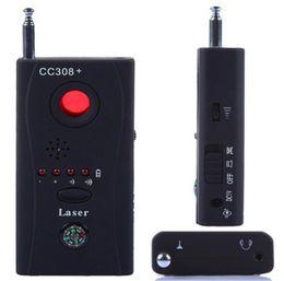 Spies caméras en Ligne-CC308 + Anti-Spy Camera détecteur multi-détecteur Wireline signal sans fil GSM BUG Listening Device Full-Frequency Full Range All-Round Finder