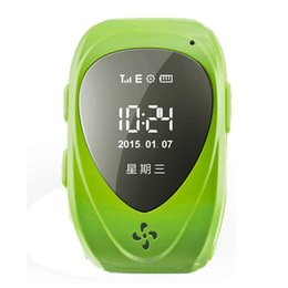 Wholesale Waterproof Gsm Gprs Gps Way Talk Tracker Babysiter Smart Watch Compatible for Children Kids phone watch with Real time Tracking