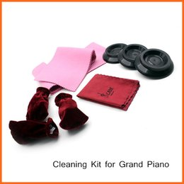 Wholesale Grand Piano in Maintenance Cleaning Kit Set Keyboard Protective Dirt proof Cover Pedal Cover Cleaning Clot