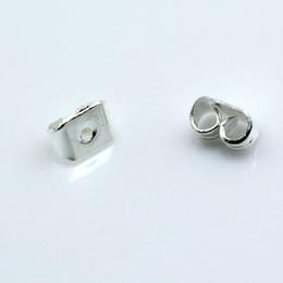 Beadsnice bronze earring pin back earring findings wholesale butterfly clutch earring backs 5x5.3mm ID 4615